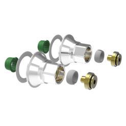 Blandarfäste V6 G15 (16x2,0-2,25 mm) C/C160 mm Vatette