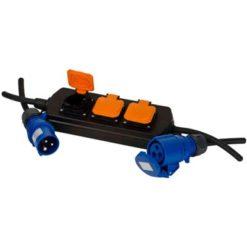 Grenuttag 3-V Campingväska 10+4M Kabel H07Rn-F 3G2.5 Ip44