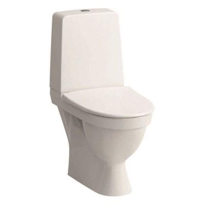 WC Dolt Laufen Kompas S-Lås Lim Rimless Ventil Mjuk Sits