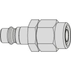 6,5x10 Nippel Steamline