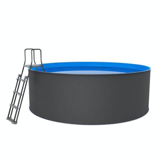 Santorini pool XL Ø3,60 x1,20m Swim & Fun