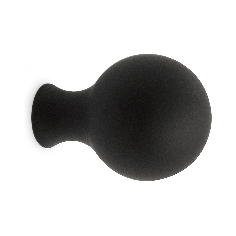 Knopp William 25mm Svart SB Habo
