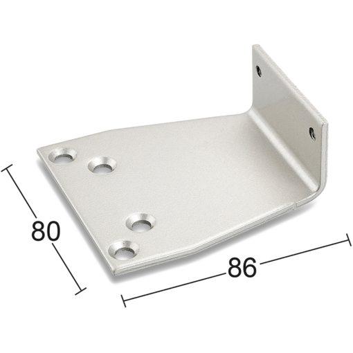 Parallellarmsfäste 8382 Silver Habo