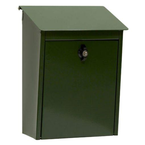 Postlåda 9441B Låsbar Grön Habo