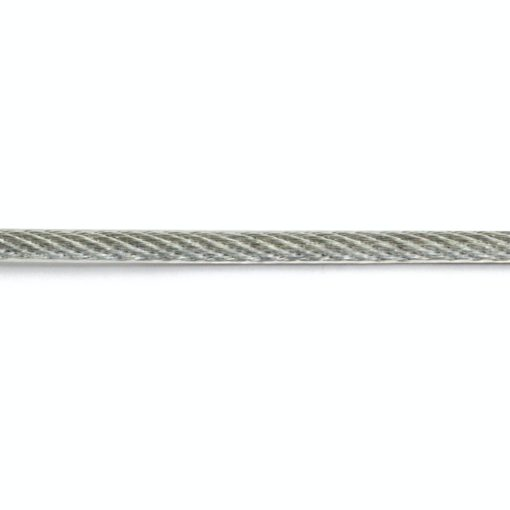 Wire 4x5mm Galv/Plast 10M SB Habo