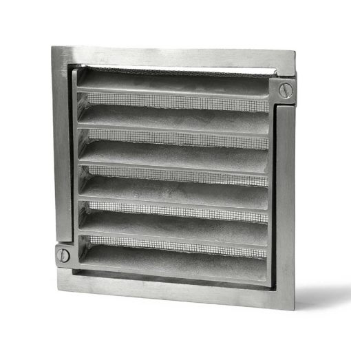 Ventilgaller 117 125x125mm Alum Habo
