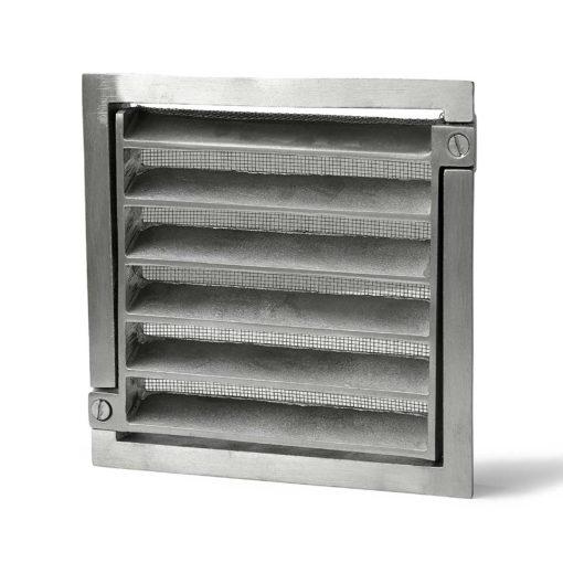 Ventilgaller 117 200x200mm Alum Habo