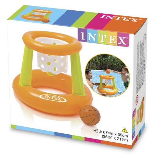 Uppblåsbar Basketkorg Pool Intex 58504 62 x 56 x 83 cm