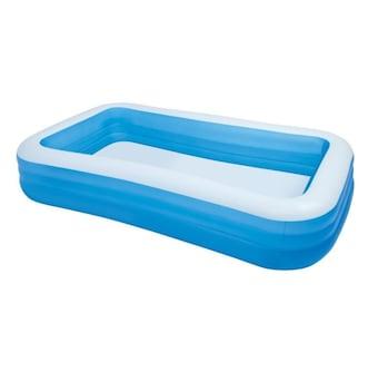 Uppblåsbar Pool Blå 305x183x56 cm Intex 58484