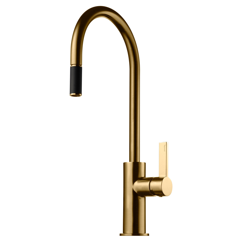 Köksblandare Brushed Honey Gold ARM185 Tapwell