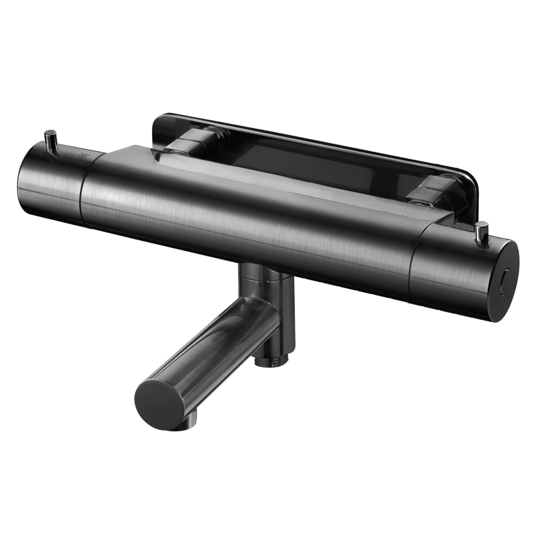 Duschblandare Brushed Black Chrome EVM022 Tapwell