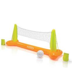 Volleybollnät För Poolen Uppblåsbar + INTEX 56508 boll