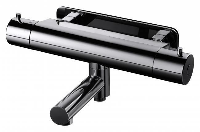 Dusch & Badkarsblandare Black Chrome EVM022 Tapwell