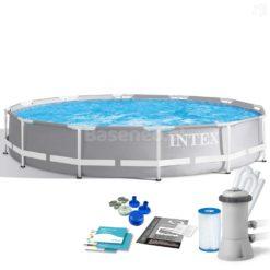 Pool Intex 26712 Med 9 Delar 366 x 76 cm