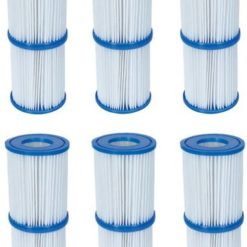 12x filter för pump typ II Bestway 58094