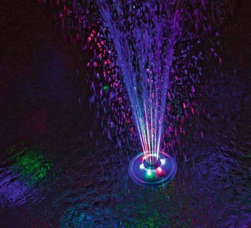 Poolbelysning Led-lampa med fontän Bestway 58493