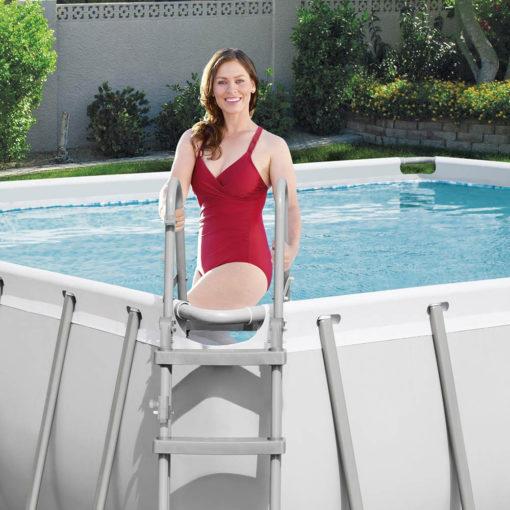 Rektangulär pool 488x244x122cm 6in1 Bestway 56671