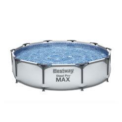 Pool Bestway 56406 Grå Steel Pro Max 305 x 76 cm Med 4 Delar