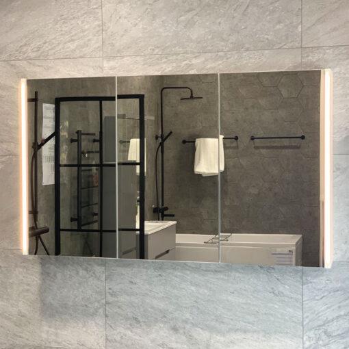 spegelskåp lidingö vit 120 cm