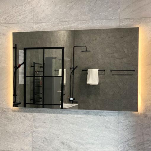 spegel 120 cm med belysning qbad aspon