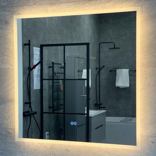 spegel 80 cm med belysning möja