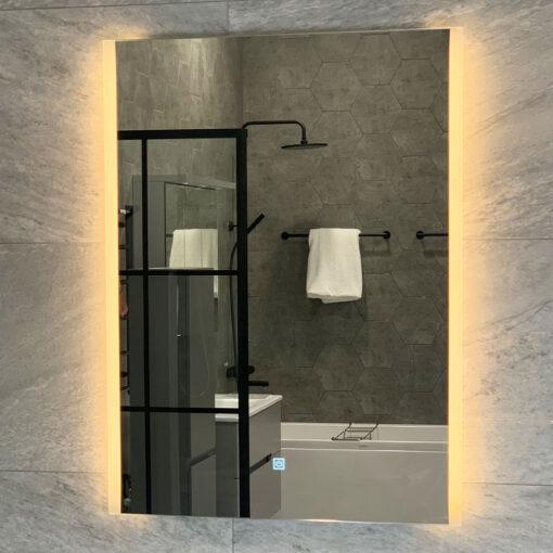 spegel med belysning qbad 60 aspön