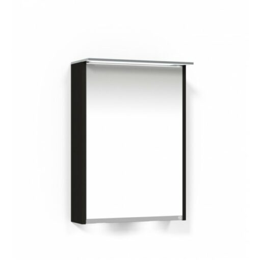Heart Spegelskåp 50 SK Svart Ekfanér Vänster Macro Design