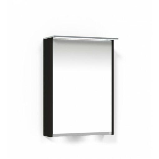 Heart Spegelskåp 50 SK Svart Ekfanér Höger Macro Design