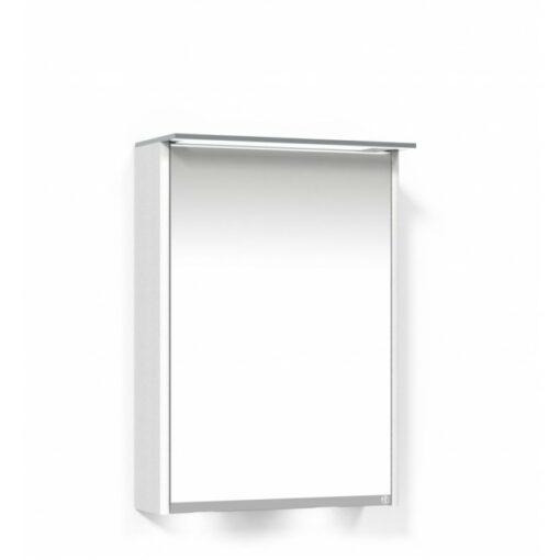 Heart Spegelskåp 50 Vit Ekfanér Vänster Macro Design