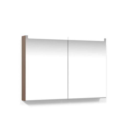 Spegelskåp 100 Ljus Ek Infälld LED Macro Design