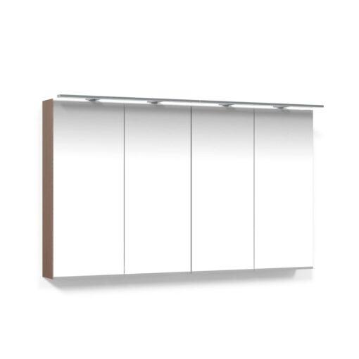 Spegelskåp 120 Ljus Ek Belysningsram LED Macro Design