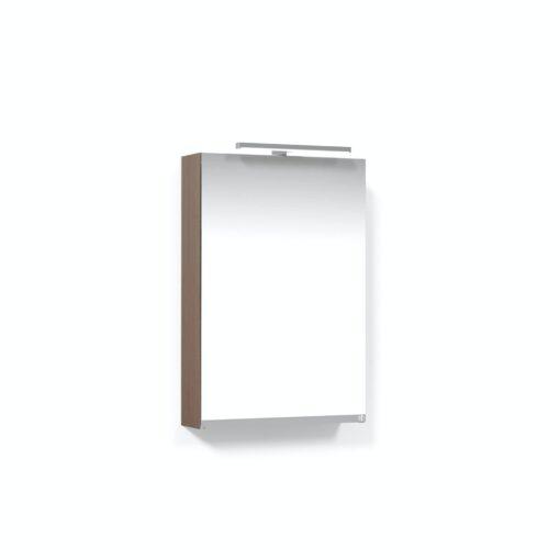 Spegelskåp 45H Ljus Ek T-Belysning LED Macro Design