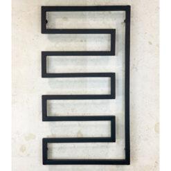 Handdukstork Svart 108 x 60 cm Qbad Corner