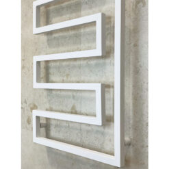 Handdukstork Vit 108 x 60 cm Qbad Corner