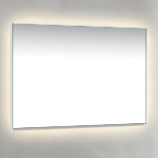 Spegel Ambilight 100x70 cm Krom Macro