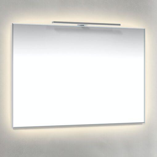Spegel Ambilight, T-Belysning 100x70 cm Krom Macro