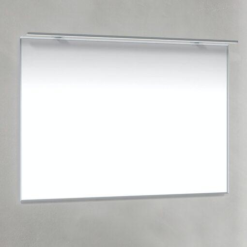 Spegel 100x70 Krom-Ram R-LED Macro Design