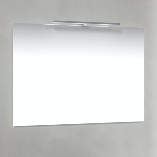 Spegel T-Belysning 100x70 cm Macro