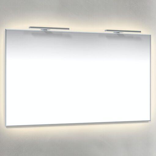Spegel Ambilight, T-Belysning 120x70 cm Krom Macro