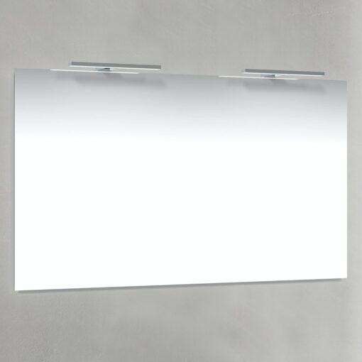 Spegel T-Belysning 120x70 cm Macro