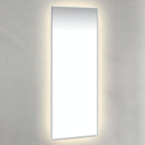 Spegel Med Ambilight 45x120 cm Kromad Ram Macro