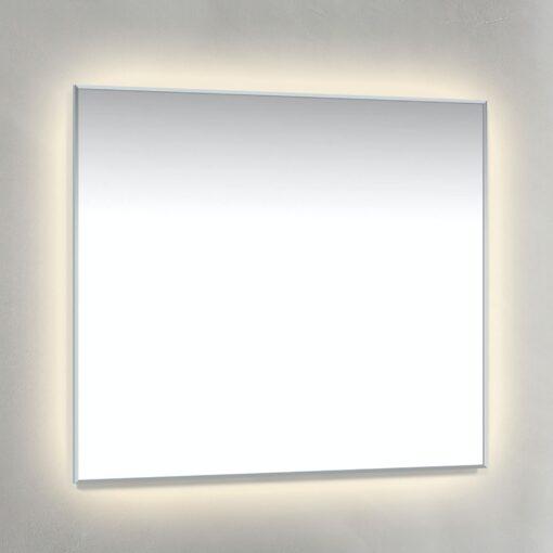 Spegel Ambilight 80x70 cm Krom Macro