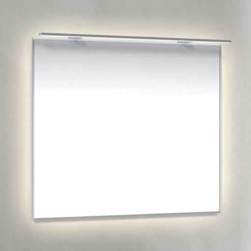 Spegel 80x70 Ambilight Krom-Ram Rampbelysning LED Macro Design