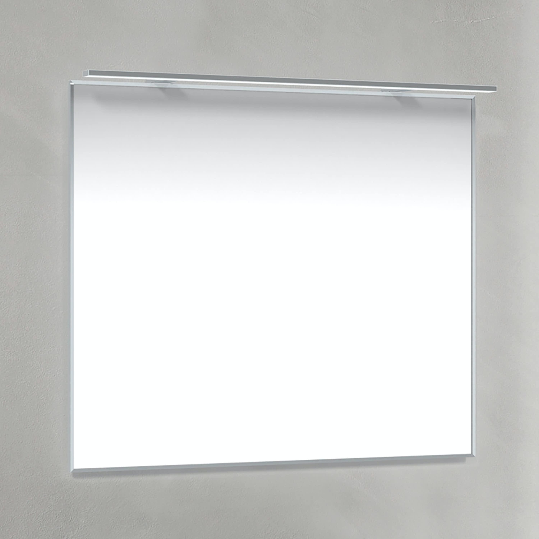 Spegel 80x70 Krom-Ram R-LED Macro Design