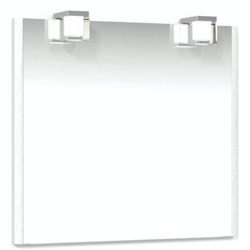 Heart Spegel 80 Vit Kube Macro Design