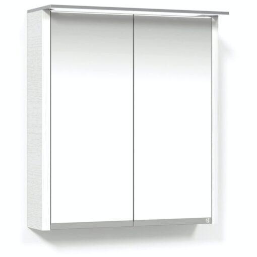 Heart Spegelskåp 65 Vit Belysningsram Macro Design