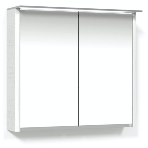 Heart Spegelskåp 80 Vit Belysningsram Macro Design