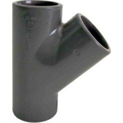 63x45Gr PVC T-Rör Pn10 För Limning