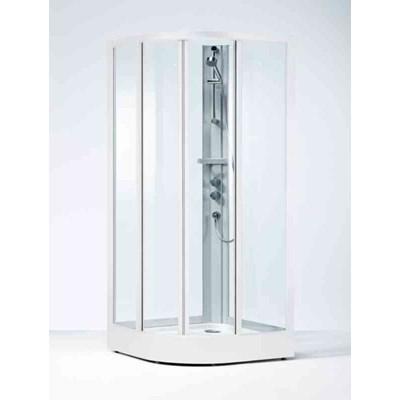 Duschkabin Ifö Solid 90x90 Screenglas Vit