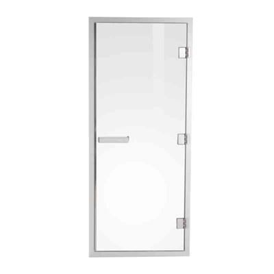 Bastudörr Aluminum Line 1870x778 mm Rökfärgat Glas Tylö